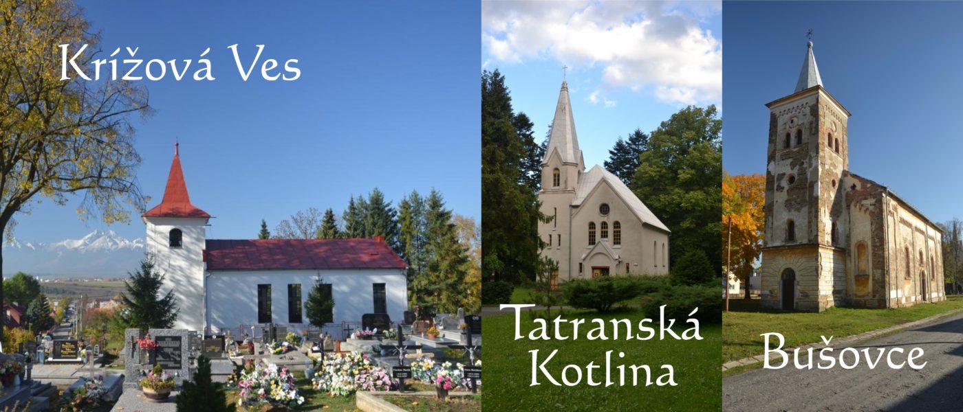Krížová Ves, Tatranská Kotlina, Bušovce